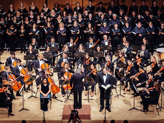 Northwestern University Symphony Orchestra and Choir