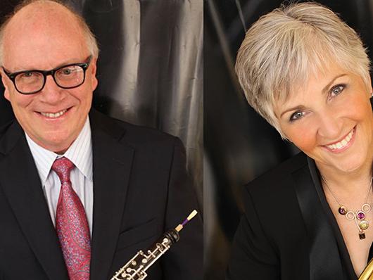 Robert Morgan and Gail Williams