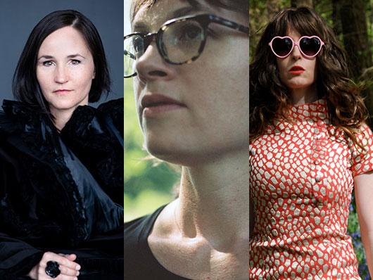 Anna Thorvaldsdottir, Katherine Young, and Jennifer Walshe