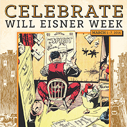 Will Eisner Week Poster