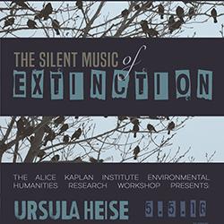Northwestern events calendar 05 05 2016 the silent music for Ursula heise
