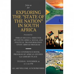 SIT South Africa poster