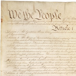 "U.S. Constitution Detail ""We the People"""