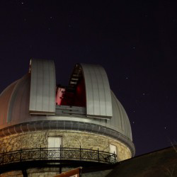Dearborn dome and telescope