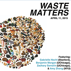 detail from Waste Matters symposium poster