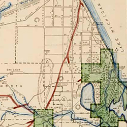 Villages of Chicago and of Cook, DuPage, and Will Counties, Illinois (1804)