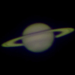 Saturn viewed from the Dearborn