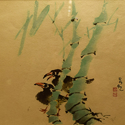 Sub Soo Lim, Harmony (ink, gouache on paper)