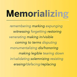 Memorializing Dialogue graphic