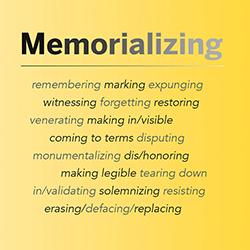 Memorializing Dialogue graphic