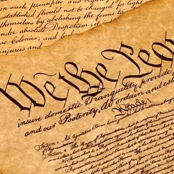 """""""We the People"""" Constitution image"""