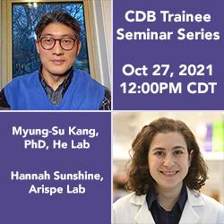 Headshots of Myung-Su Kang, PhD, and Hannah Sunshine