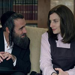 Zohar Shtrauss and Neta Riskin in Shtisel